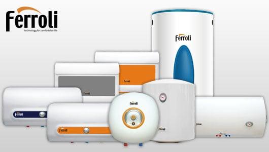 Ferroli cung cấp dịch vụ bảo dưỡng bình nóng lạnh tốt nhất