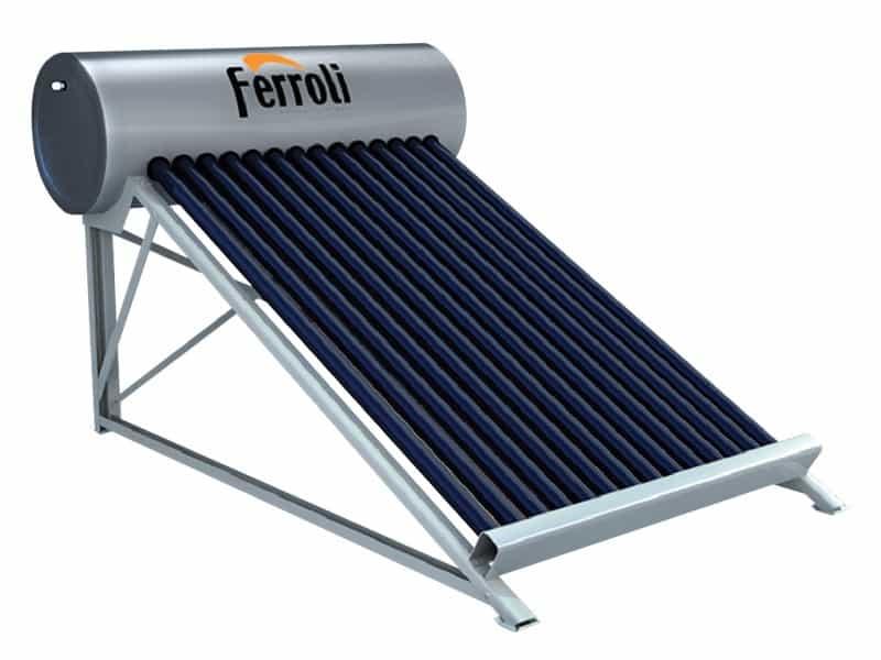 Bình năng lượng mặt trời dạng ống