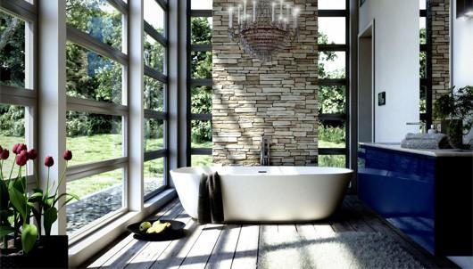 Cách thông minh giúp làm mát phòng tắm ngày hè