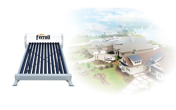 Những lợi ích của việc sử dụng máy nước nóng năng lượng mặt trời