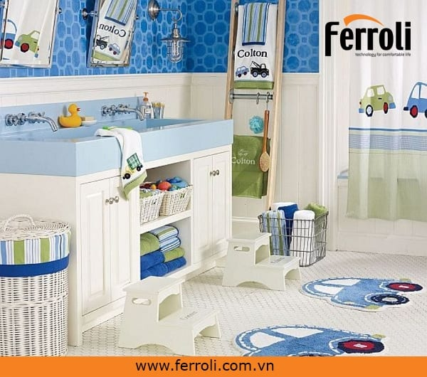 Bình nóng lạnh Ferroli có thiết kế như thế nào?