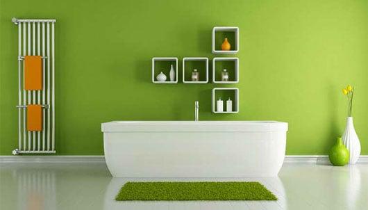 Những cách hay và tiết kiệm giúp làm mới phòng tắm