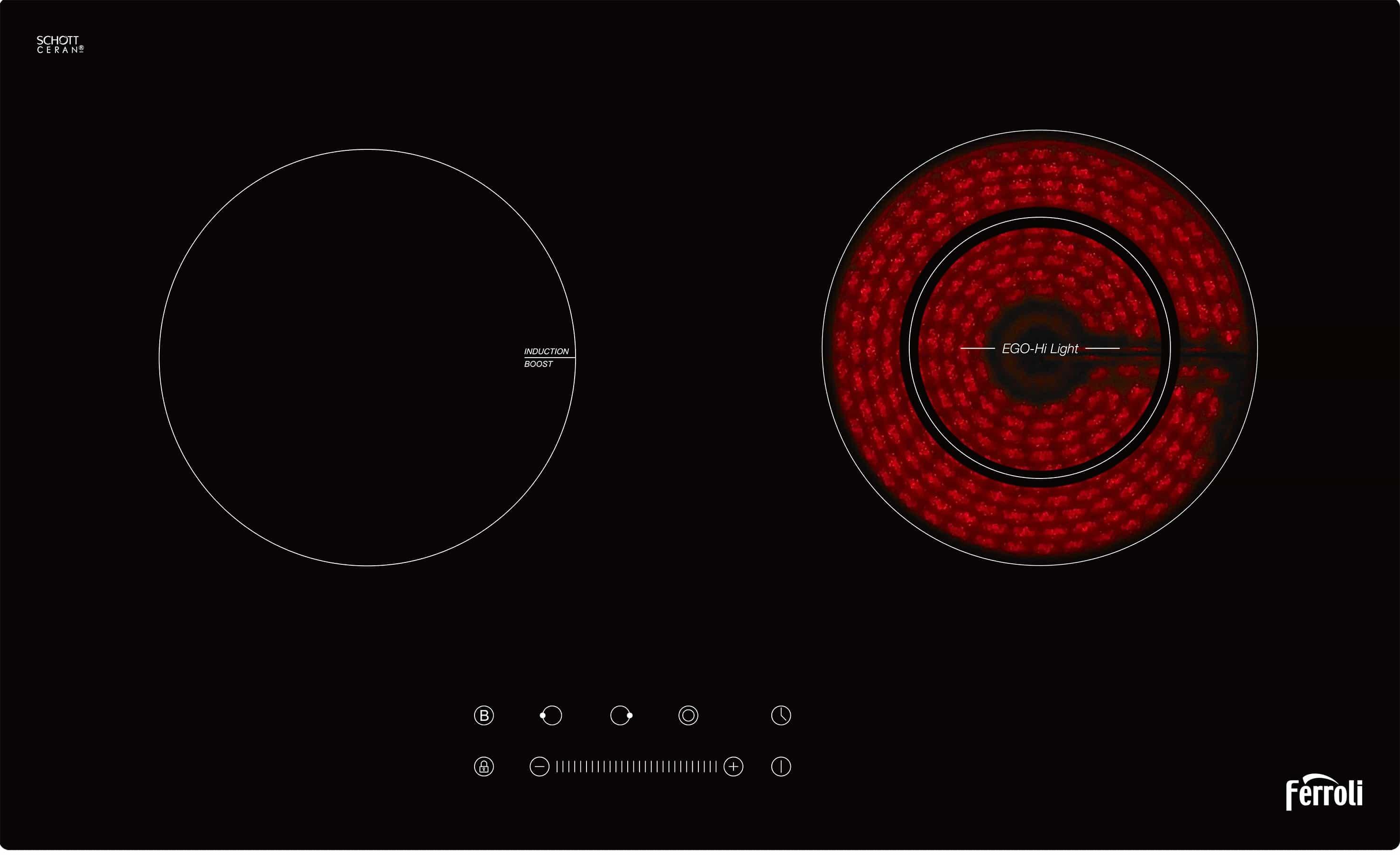Bếp từ-hồng ngoại IC4200BS
