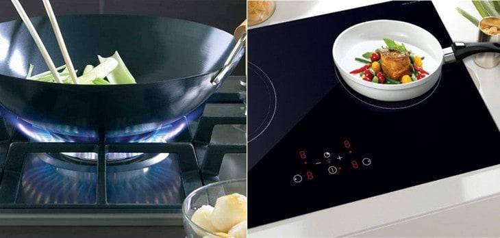 Nên sử dụng bếp gas, bếp điện, bếp từ hay bếp hồng ngoại
