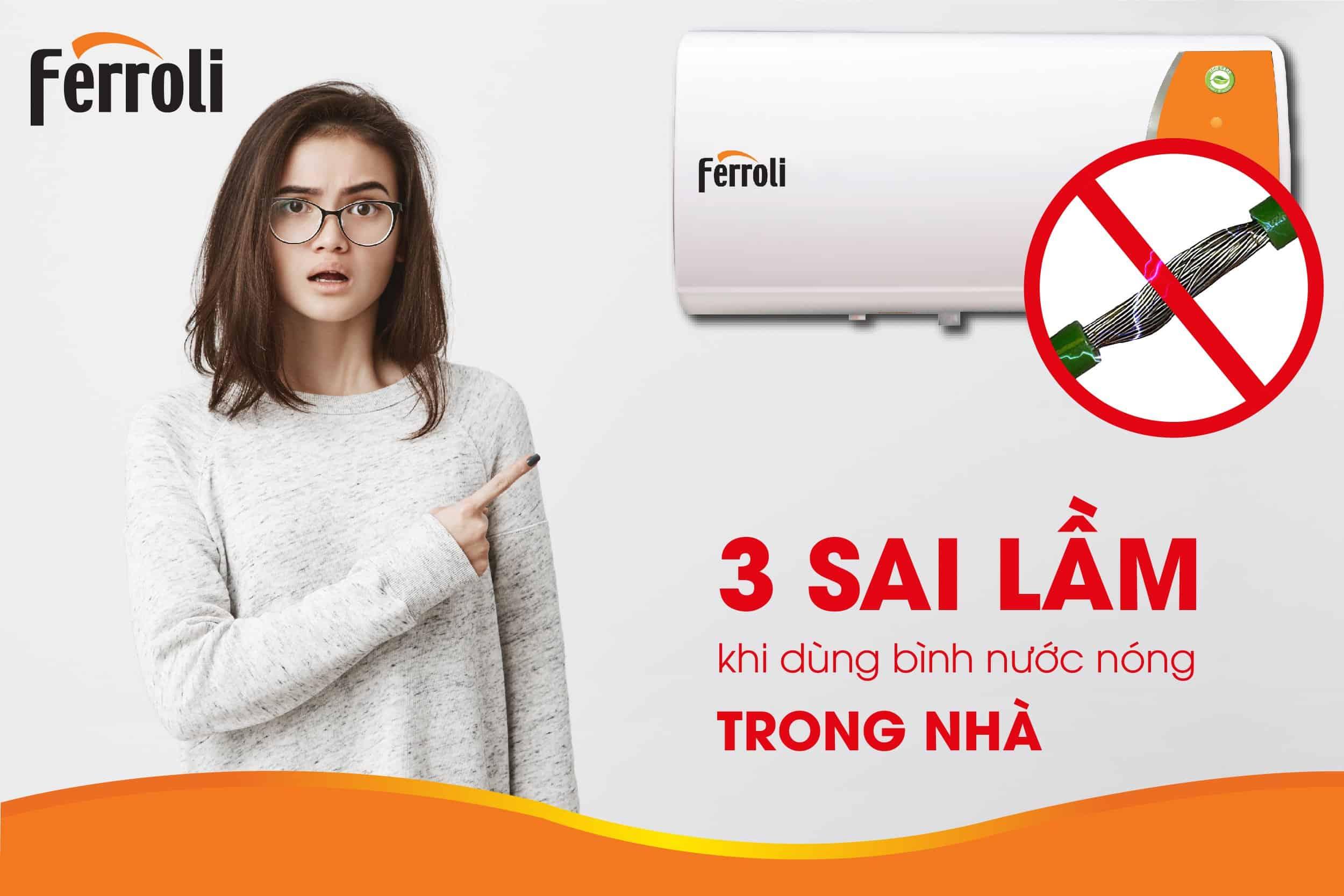 3 sai lầm khi dùng bình nước nóng trong nhà mà ai cũng dễ mắc phải