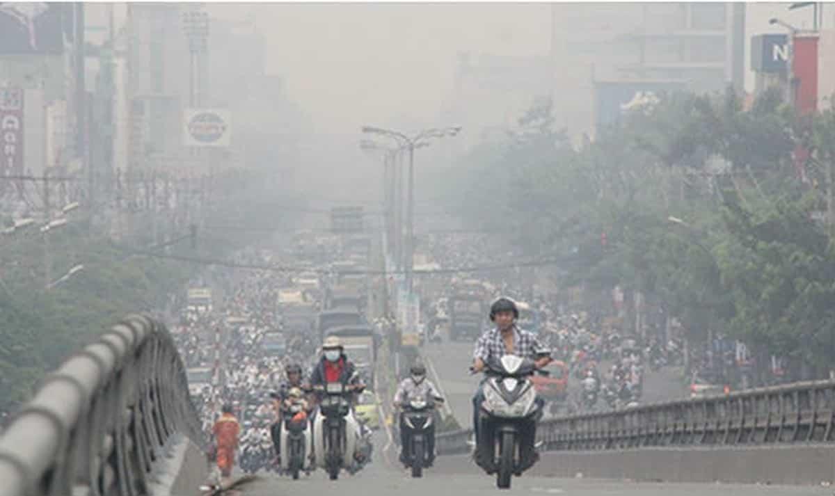 Cảnh báo ô nhiễm không khí tại các đô thị lớn